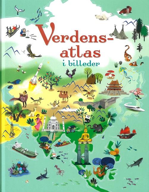 Image of   Verdensatlas i billeder (Bog)