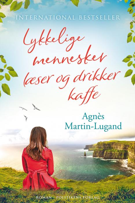 Image of Lykkelige mennesker læser og drikker kaffe (E-bog)