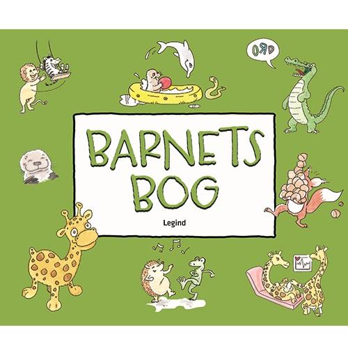 Image of   Barnets bog med dyreillustrationer (Bog)
