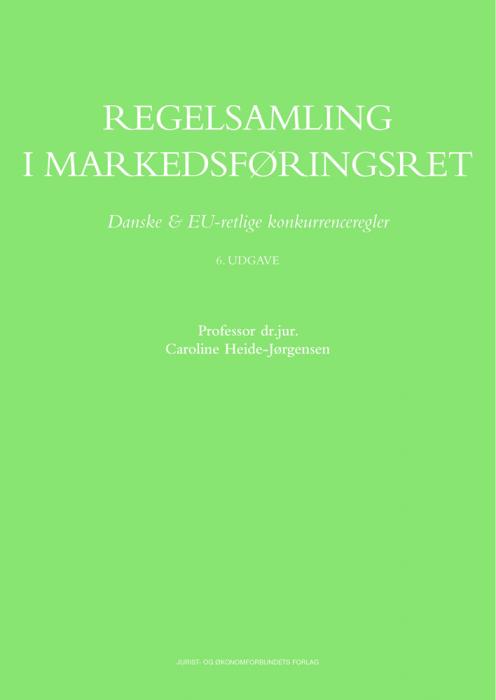Regelsamling i Markedsføringsret (Bog)