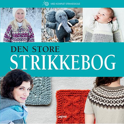 Image of   Den store strikkebog (Bog)