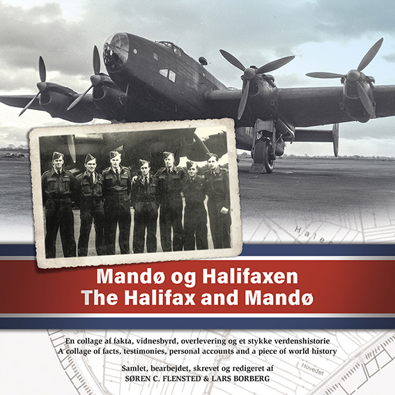 Mandø og Halifaxen - The Halifax and Mandø (Bog)