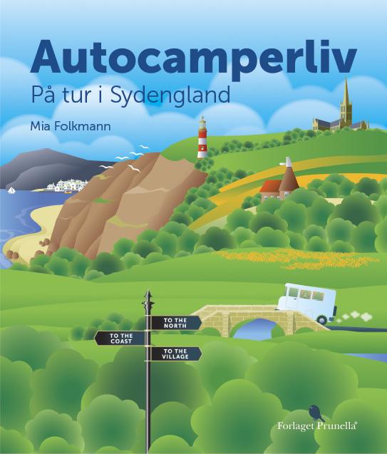 Image of   Autocamperliv - på tur i Sydengland (Bog)