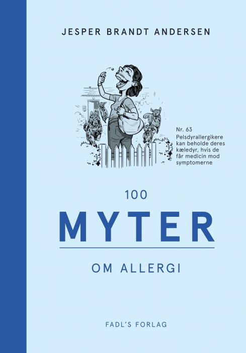 Image of   100 myter om allergi (Bog)