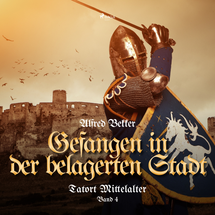 Billede af Gefangen in der belagerten Stadt (Tatort Mittelalter, Band 4) (Lydbog)
