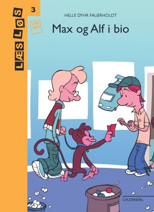 Max og Alf i bio (E-bog)