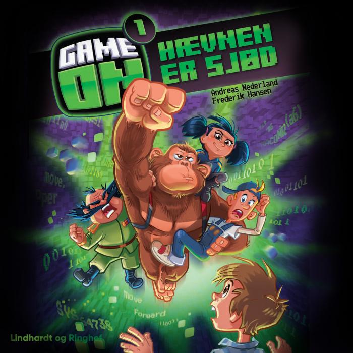 Image of Game on 1: Hævnen er sjød (Lydbog)