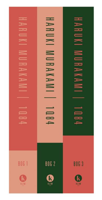 Image of   1Q84 Bog 1-3 sæt (Bog)