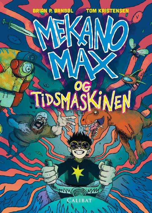 Mekano Max og tidsmaskinen (Bog)