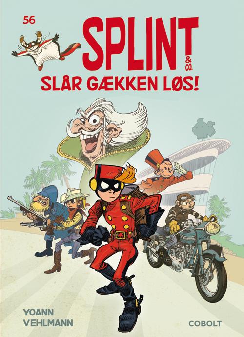 Splint & Co. 56: Splint & Co. slår gækken løs! (Bog)