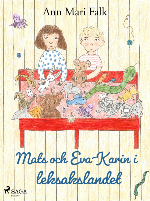 Image of Mats och Eva-Karin i leksakslandet (E-bog)