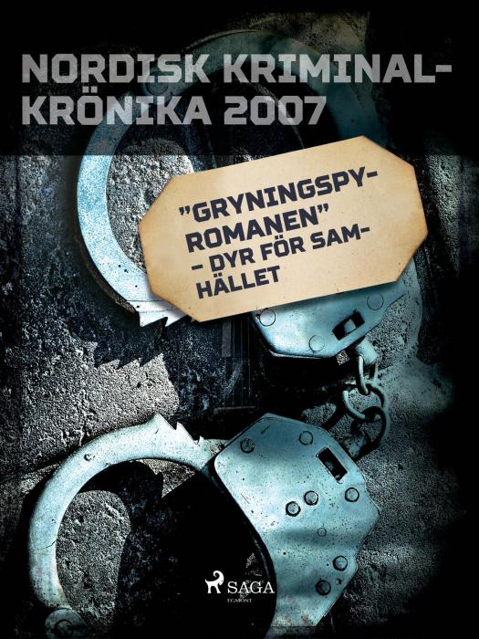"""Image of   """"Gryningspyromanen"""" - dyr för samhället (E-bog)"""