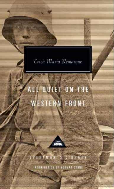 All Quiet on the Western Front af Erich Maria Remarque som bog