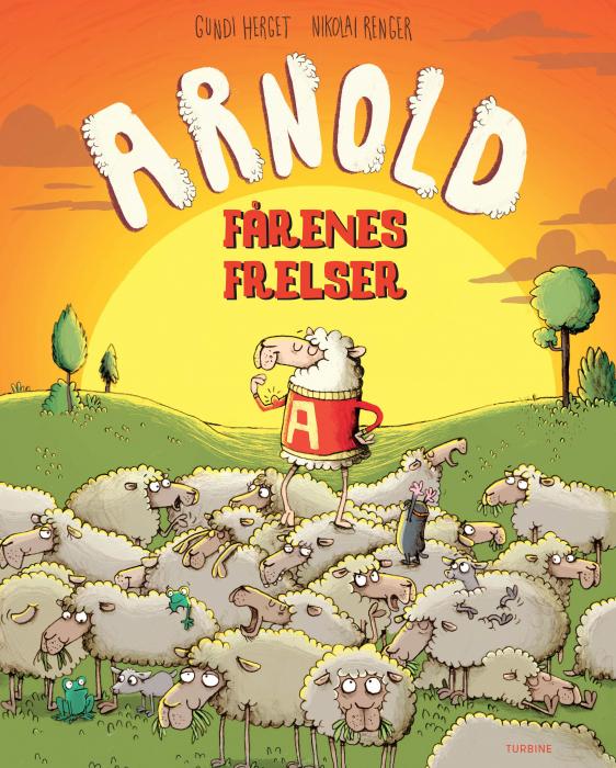 Arnold  -  fårenes frelser (Bog)