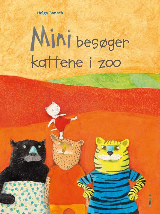 Mini besøger kattene i zoo (Bog)