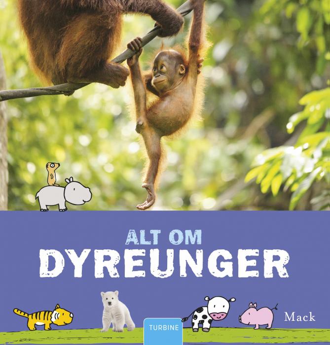 Alt om dyreunger (Bog)
