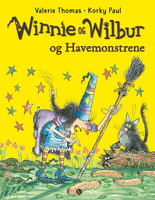 Winnie og Wilbur og Havemonstrene (Bog)