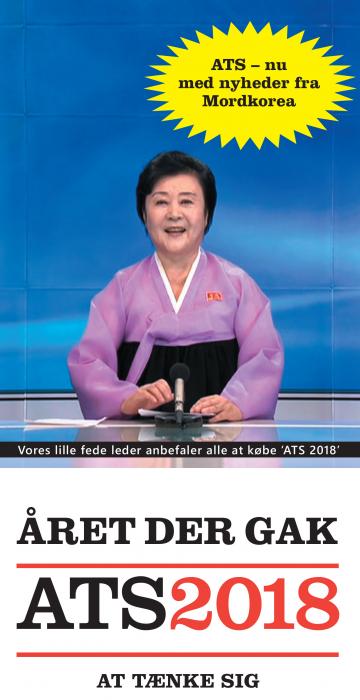 Året der gak - ATS 2018 (Bog)