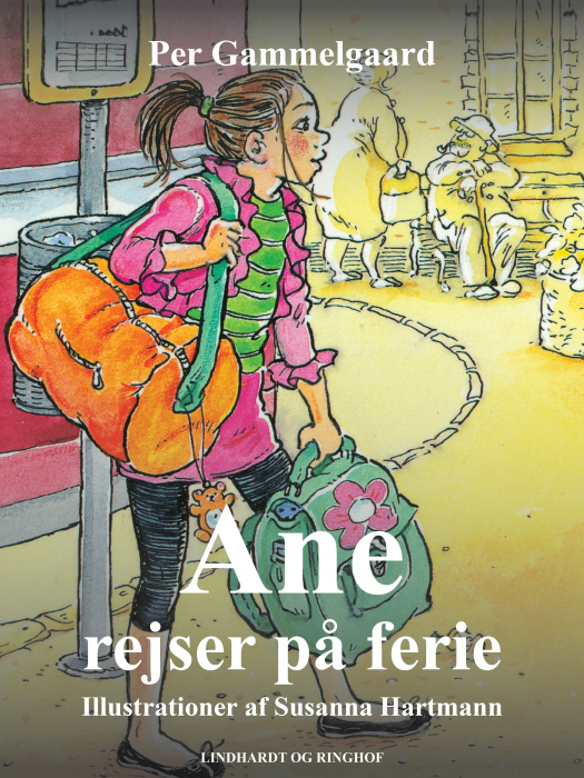 Ane rejser på ferie (E-bog)