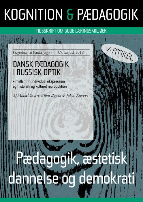 Dansk Pædagogik i russisk optik (E-bog)